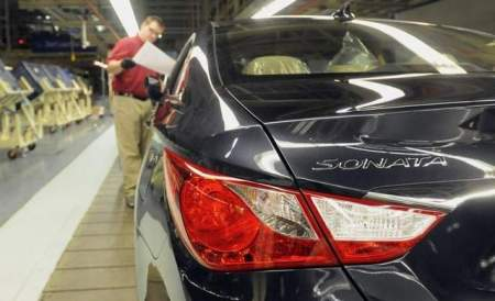 New Sonata paces Hyundai October sales record